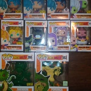 Dragonball z funko pop